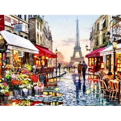 Diamantové malování - Eiffelova věž
