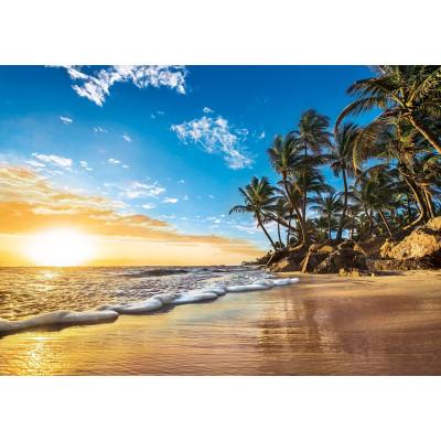 Diamantové malování - pláž