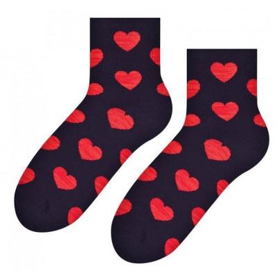 Zamilované ponožky - černé - vel. uni