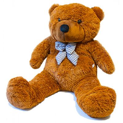 Medvěd hnědý plyšový 190cm