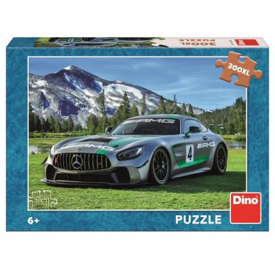 Dino Mercedes AMG GT v horách puzzle 300XL dílků