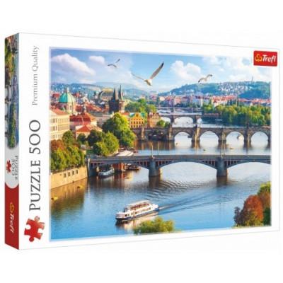 Trefl Puzzle Praha, Česká Republika 500 dílků