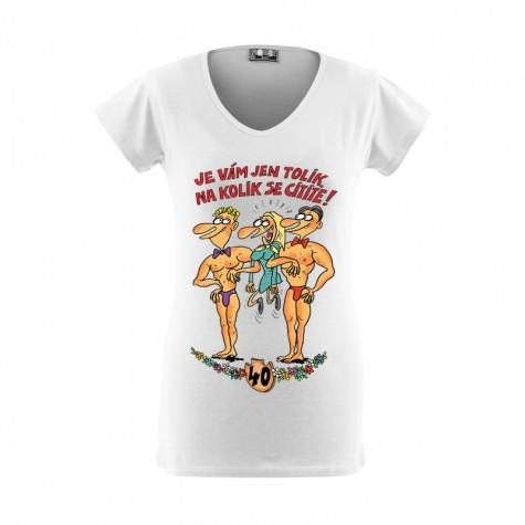Tričko - Výročí žena 40
