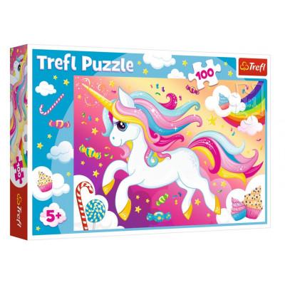 Trefl Puzzle Krásný jednorožec 100 dílků