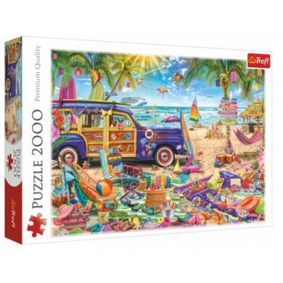 Trefl Puzzle Tropická dovolená 2000 dílků