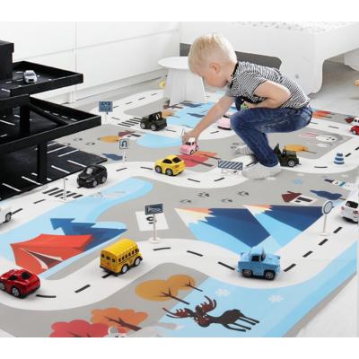 Hrací podložka pro autíčka - barevná