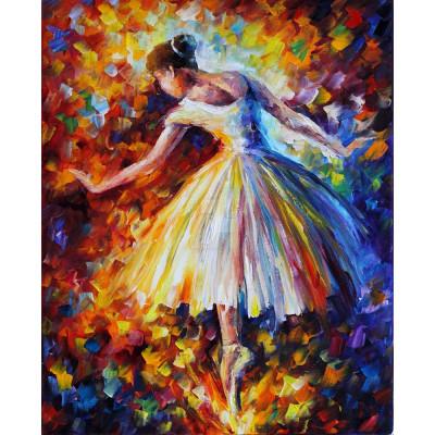 Diamantové malování - baletka