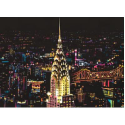 Stírací obraz - New York