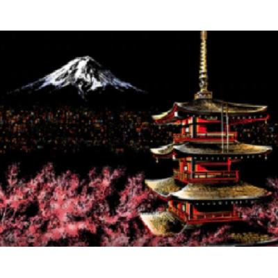 Stírací obraz - Tokyo