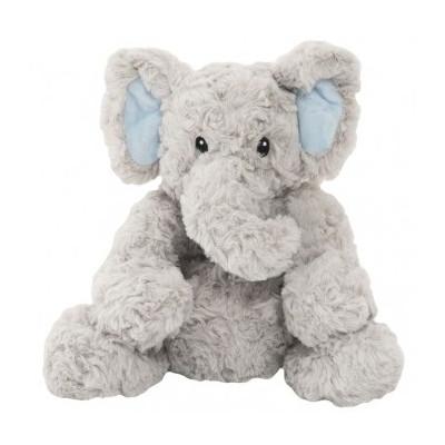 Slon sedící nahřívací plyš 23cm