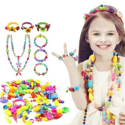 Dětské barevné korálky - mega balení
