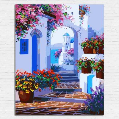 Malování podle čísel - Řecko