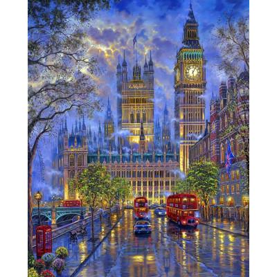 Malování podle čísel - Londýn