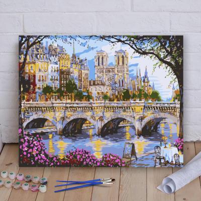 Malování podle čísel - most