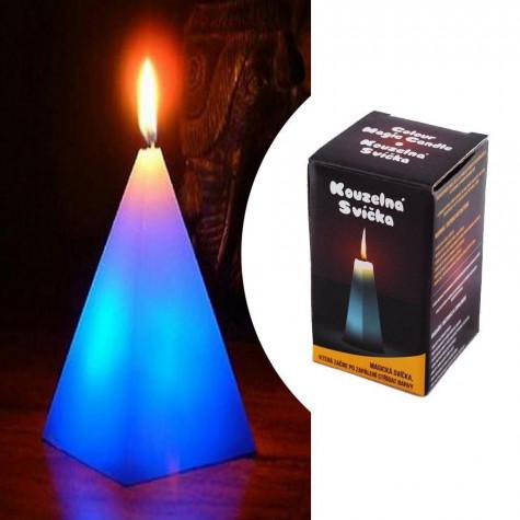 Kouzelná svíčka - čtyřstěnná pyramida