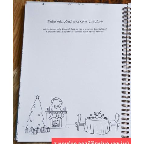 Perkman kniha - Rodinná Vánoční kronika