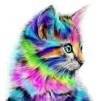 Diamantové malování basic - kočička