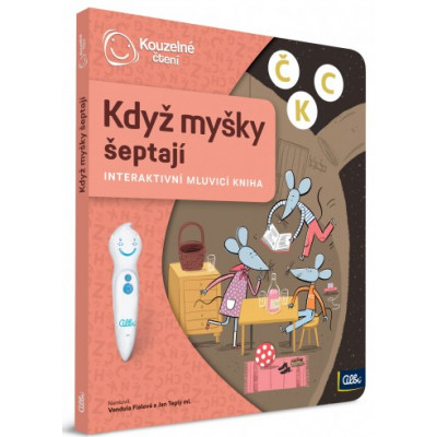 Albi Kouzelné čtení - Kniha Když myšky šeptají