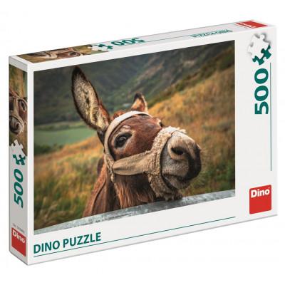Dino Oslík puzzle 500 dílků