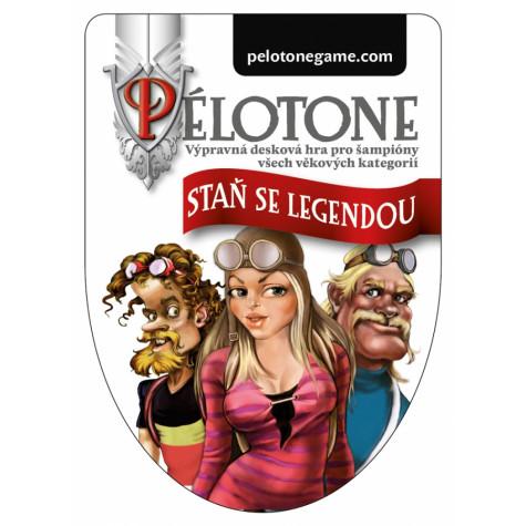 Desková hra Pélotone - staň se legendou!