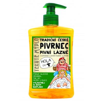 Pivní lázeň Pivrnec - tekuté mýdlo 500ml