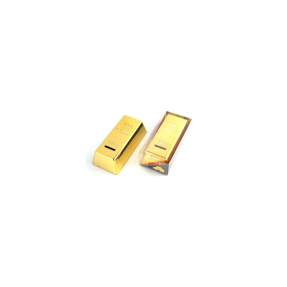 Zlatá cihla - pokladnička