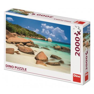 Dino Pláž puzzle 2000 dílků