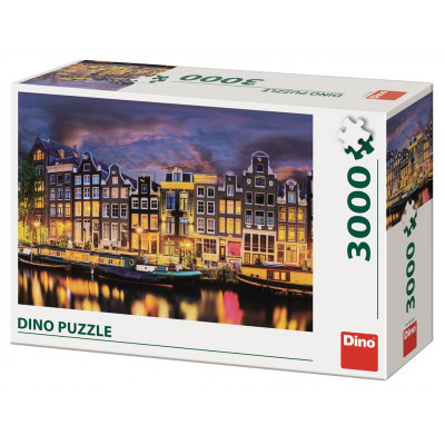 Dino Amsterdam puzzle 3000 dílků