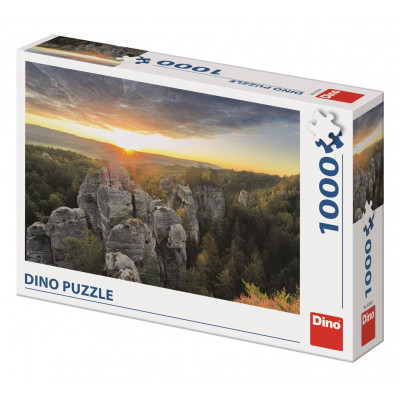 Dino Skalnaté stěny puzzle 1000 dílků