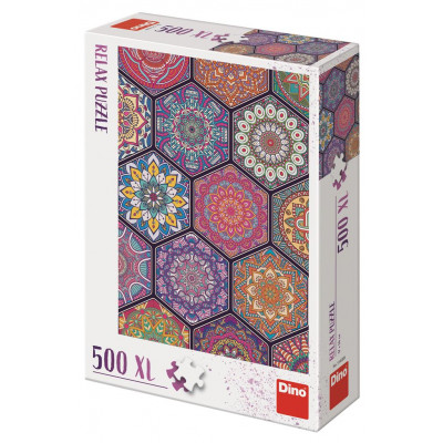 Dino Mandaly relax puzzle 500XL dílků