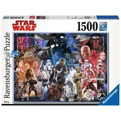 RAVENSBURGER Puzzle Svět Star Wars 1500 dílků