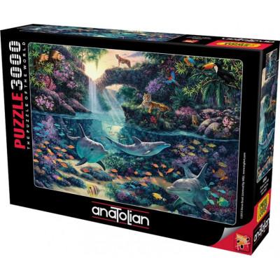 ANATOLIAN Puzzle Kouzelná džungle 3000 dílků