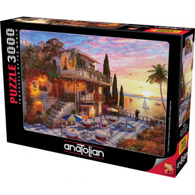 ANATOLIAN Puzzle Středomořská romance 3000 dílků