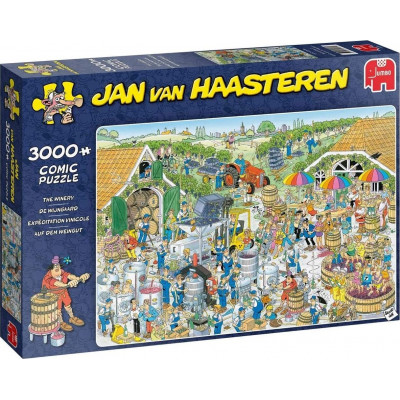 JUMBO Puzzle Vinice 3000 dílků