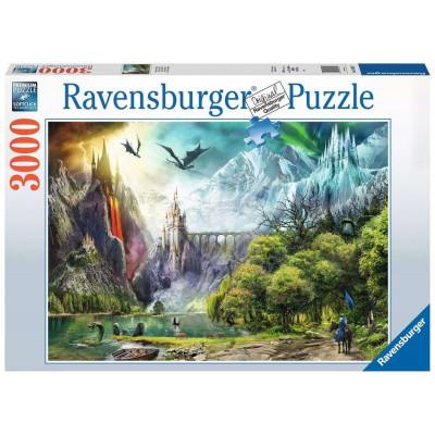 RAVENSBURGER Puzzle Vláda draků 3000 dílků