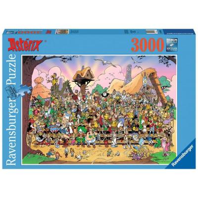 RAVENSBURGER Puzzle Asterix a Obelix: Rodinná fotka 3000 dílků