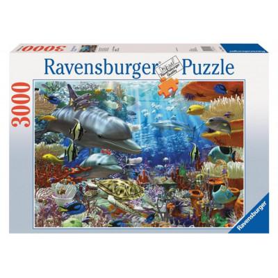 RAVENSBURGER Puzzle Život pod vodou 3000 dílků