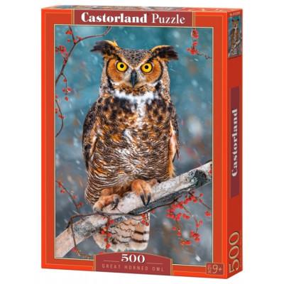 CASTORLAND Puzzle Výr ušatý 500 dílků