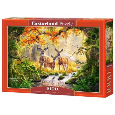 CASTORLAND Puzzle Královská rodina 1000 dílků