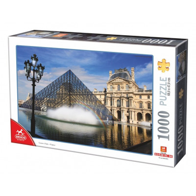 DEICO Puzzle Louvre, Paříž 1000 dílků