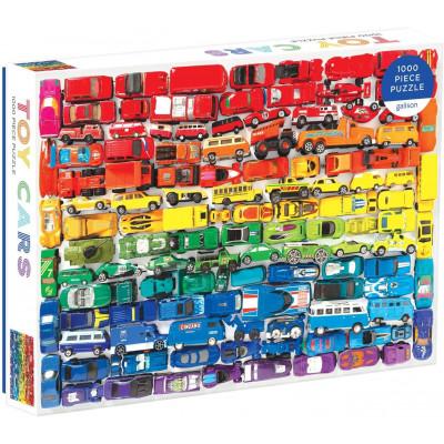 GALISON Puzzle Duhová autíčka 1000 dílků