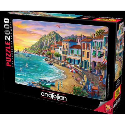 ANATOLIAN Puzzle Nádherná pláž 2000 dílků