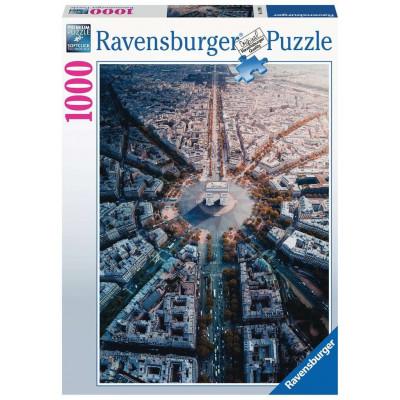 RAVENSBURGER Puzzle Pohled na Paříž 1000 dílků