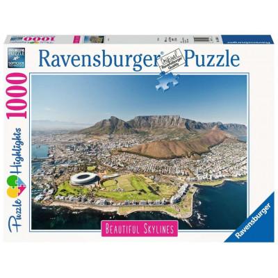 RAVENSBURGER Puzzle Kapské Město, Jihoafrická republika 1000 dílků