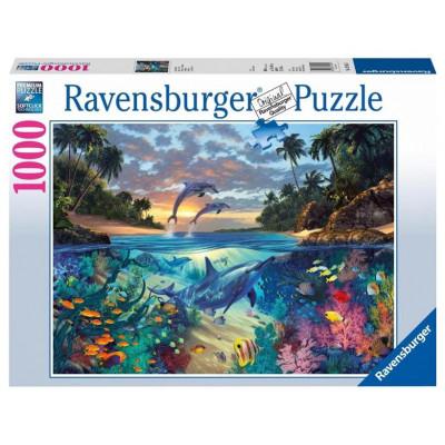 RAVENSBURGER Puzzle Korálové moře 1000 dílků