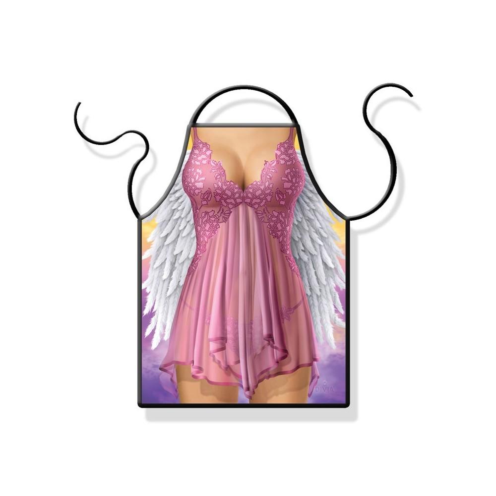 Zástěra - Žena anděl