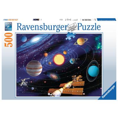 RAVENSBURGER Puzzle Sluneční soustava 500 dílků
