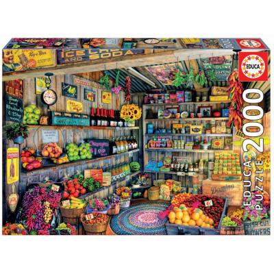 EDUCA Puzzle Farmářský trh 2000 dílků