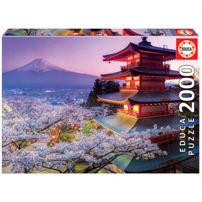 EDUCA Puzzle Hora Fudži, Japonsko 2000 dílků