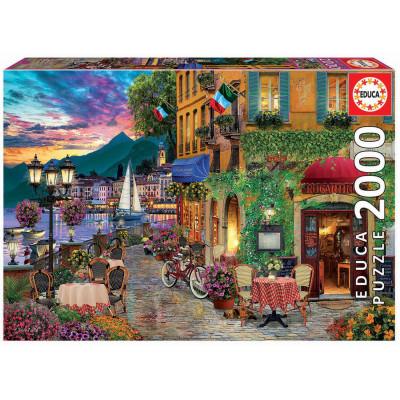 EDUCA Puzzle Italské kouzlo 2000 dílků